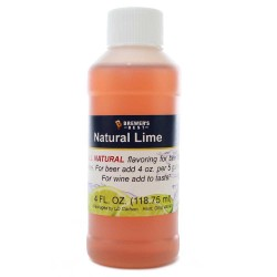 Lime Flavoring Extract 4 oz.