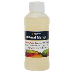 Natural Mango Flavoring Extract 4 oz.