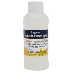 Natural Pineapple Flavoring Extract 4 oz.