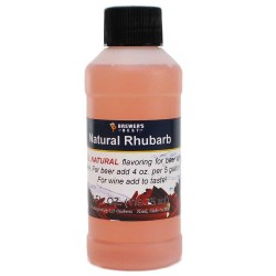Natural Rhubarb Flavoring Extract 4 oz.