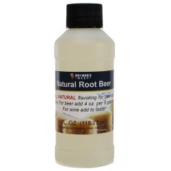 Natural Root Beer Flavoring Extract 4 oz.