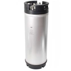 New Ball Lock Keg - 5 Gallon - Rubber Top
