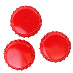 Red Bottle Caps