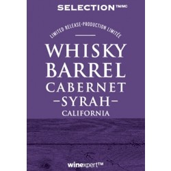Selection Whisky Barrel Cabernet Syrah - Winexpert Limited Release - PRE-ORDER
