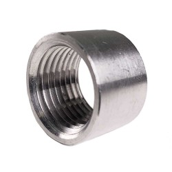Stainless Half coupler 1/2""