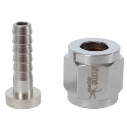 "Swivel Nut 1/4"" MFL to 3/16"" Barb"