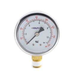 Taprite Regulator Gauge - Line Pressure - 160#