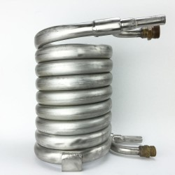 Wort Chiller - Counterflow - Stainless Steel with NPT Fittings