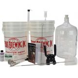 Deluxe Beer Making Equipment Kit with Glass Carboy