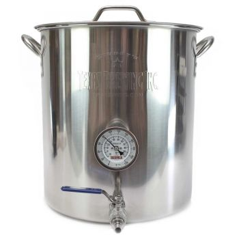 10 gallon welded Brew kettle Assembly