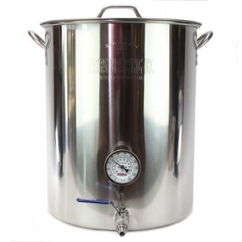 15 Gallon Stainless Steel Brew Kettle Assembly