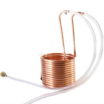 Copper Immersion Wort Chiller 25' x 3/8""