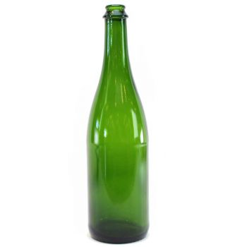 Green Champagne Bottles