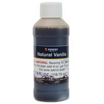 Natural Vanilla Flavoring Extract 4 oz.