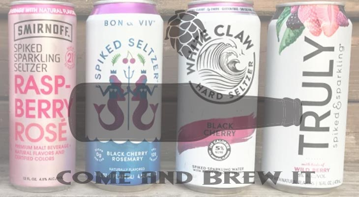 Come and Brew It Radio: Episode 142 -- Hard Seltzer and The Redcoat Challenge