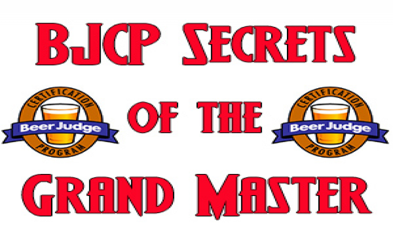 BJCP Secrets of the Grandmaster: The Nuts and Bolts of Competition Entry