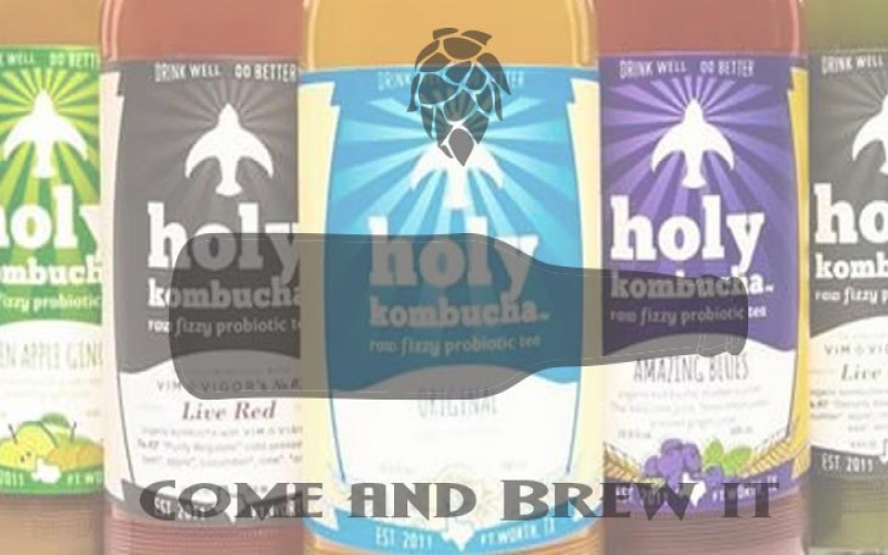 Come and Brew It Radio: Episode 133 -- Kombucha feat. Holy Kombucha and The Leipzig Gose