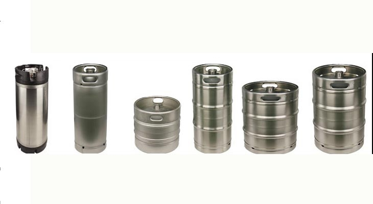 Commercial keg examples